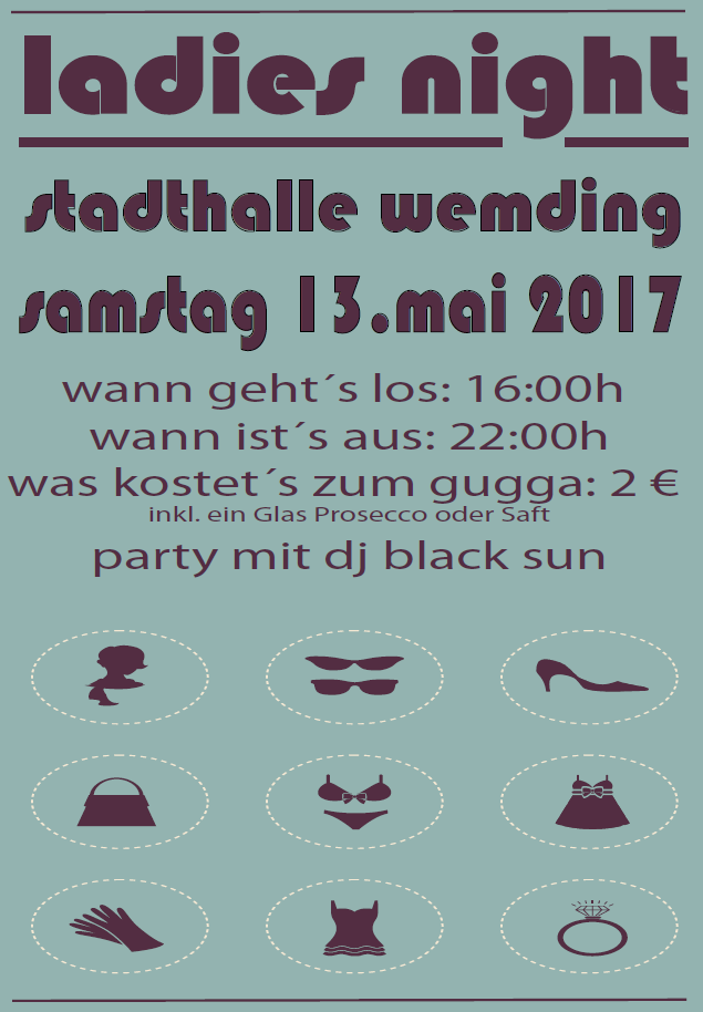 Einladung Ladies Night